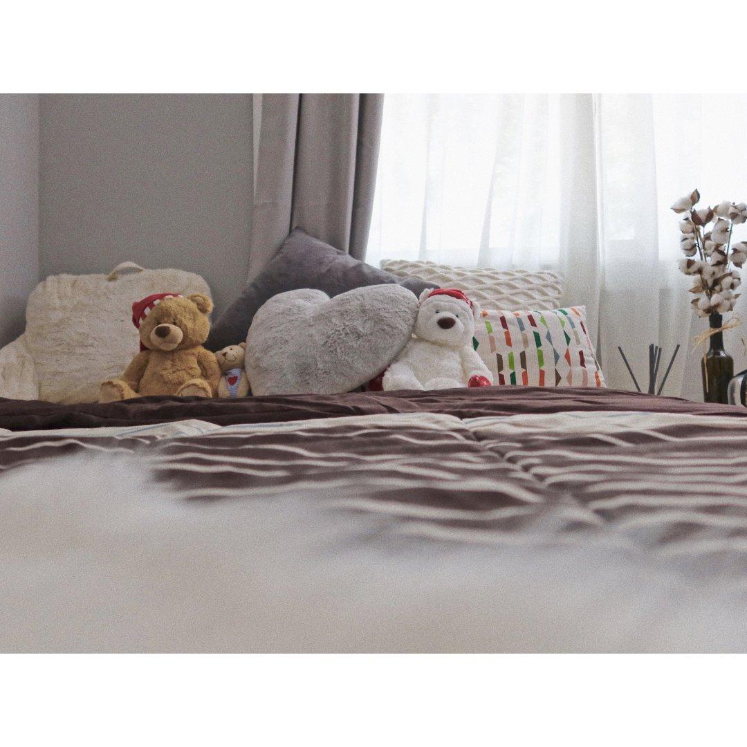 🛏️家居分享|  一间棉花气息的卧室