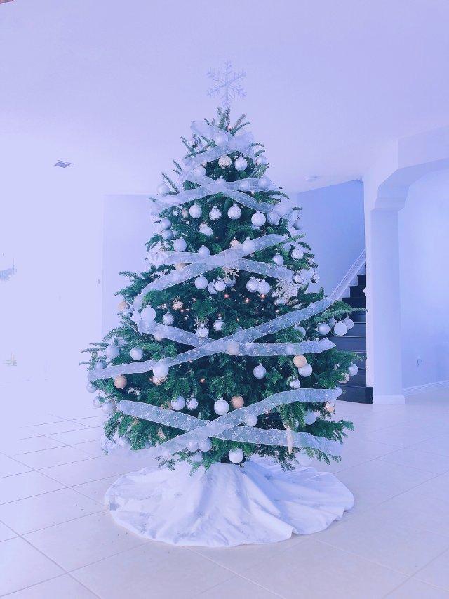 圣诞树装饰,我真的尽力了