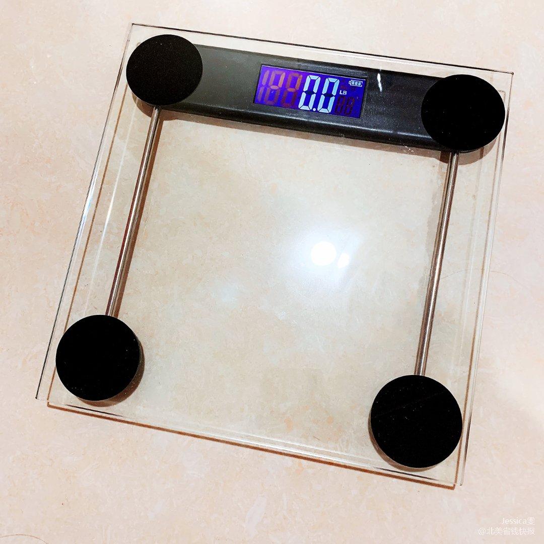 简简单单的透明体重计
