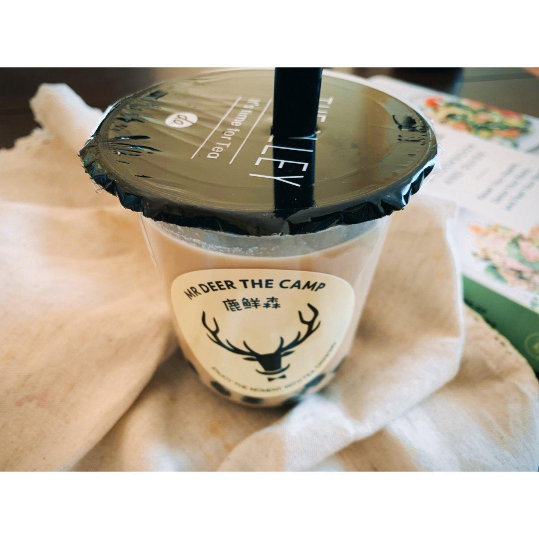 鹿鲜森奶茶 在家也可以喝到冲绳奶茶...