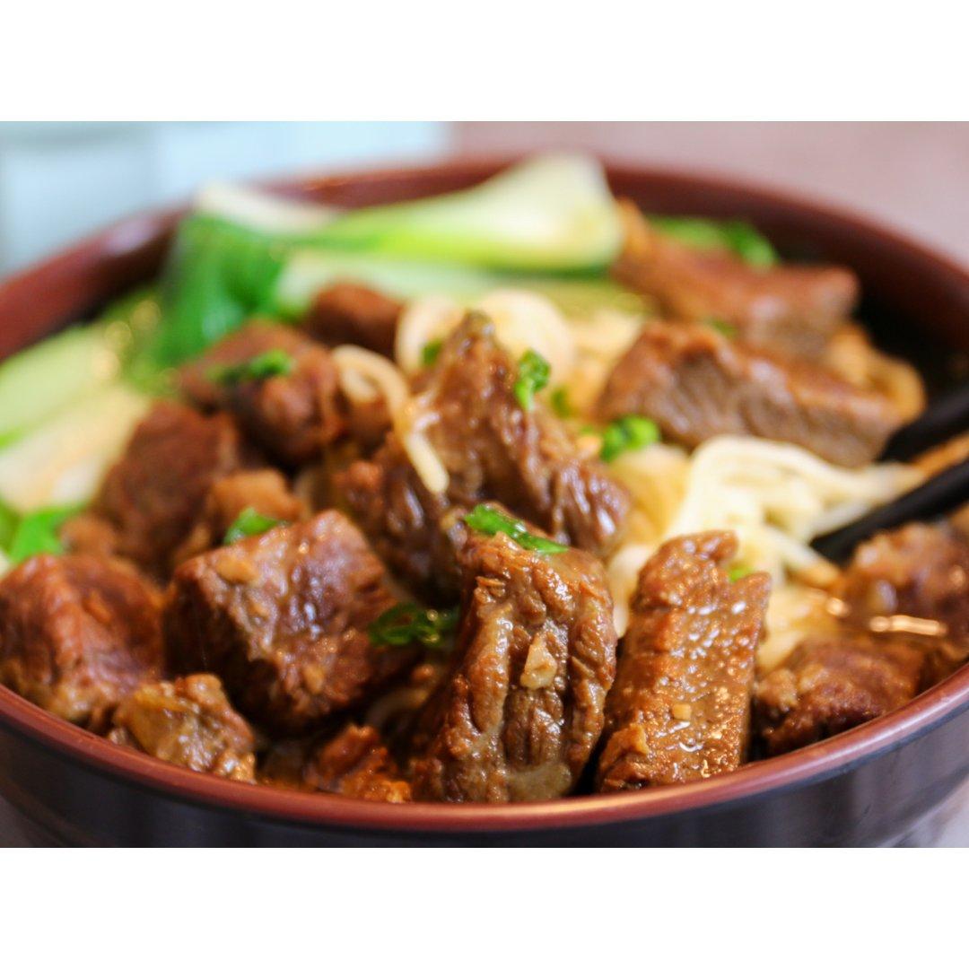 红烧牛肉面|北鼎珐琅铸铁锅