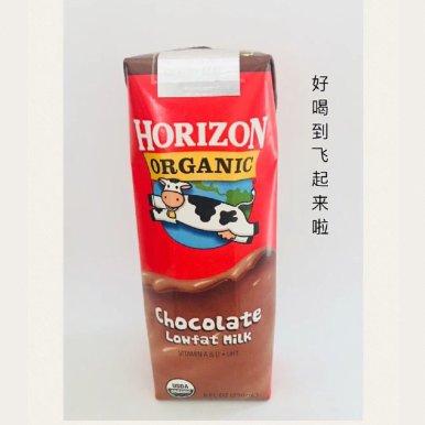 巧克力低脂有机奶 8oz 12盒