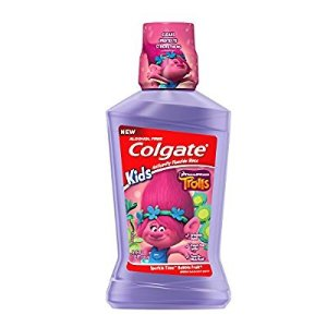 $14Colgate Kids Mouthwash, Trolls - 500 mL (6 Pack)
