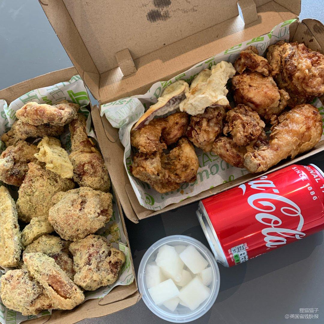 伦敦最好吃的韩式炸鸡❤️Cheemc