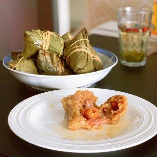 甜咸之争 | 蛋黄鲜肉粽...