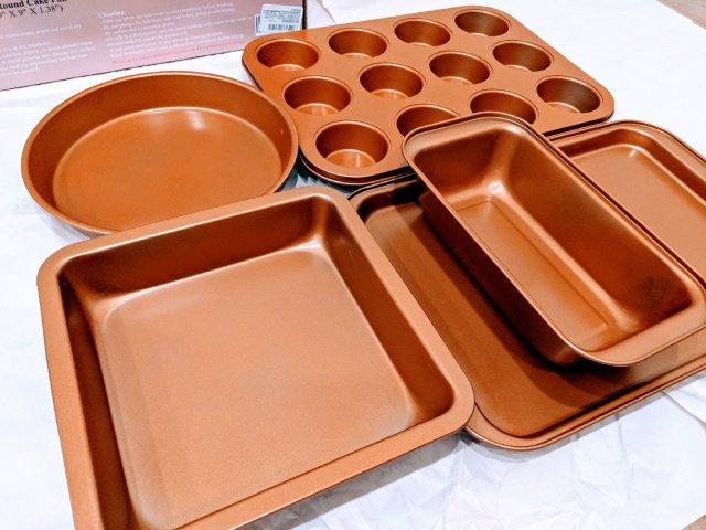 #厨房好物推荐| 不粘铜烤盘组亚马...