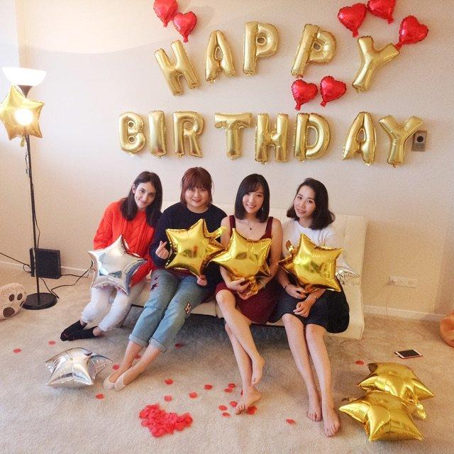 今天和朋友一起庆祝了生日♥️♥️<...