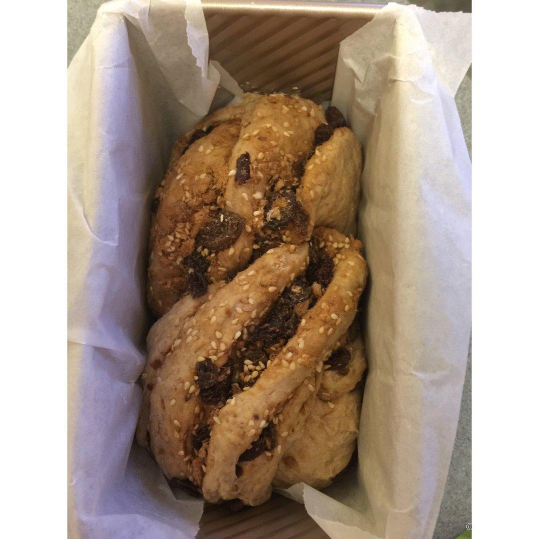 完全揉出面筋的面包