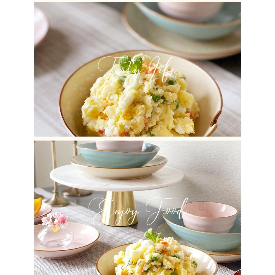 宅家做面食  火腿豆角焖面+日式土豆沙拉...