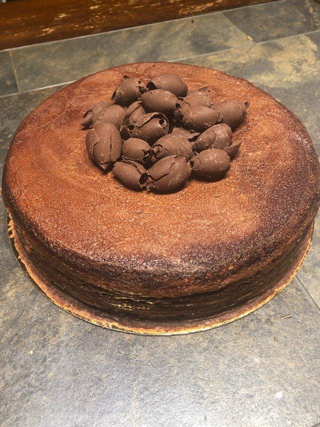 Lady M巧克力千层蛋糕