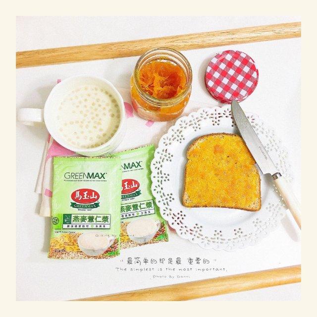 我的养生早餐!—— 马玉山燕麦薏仁浆
