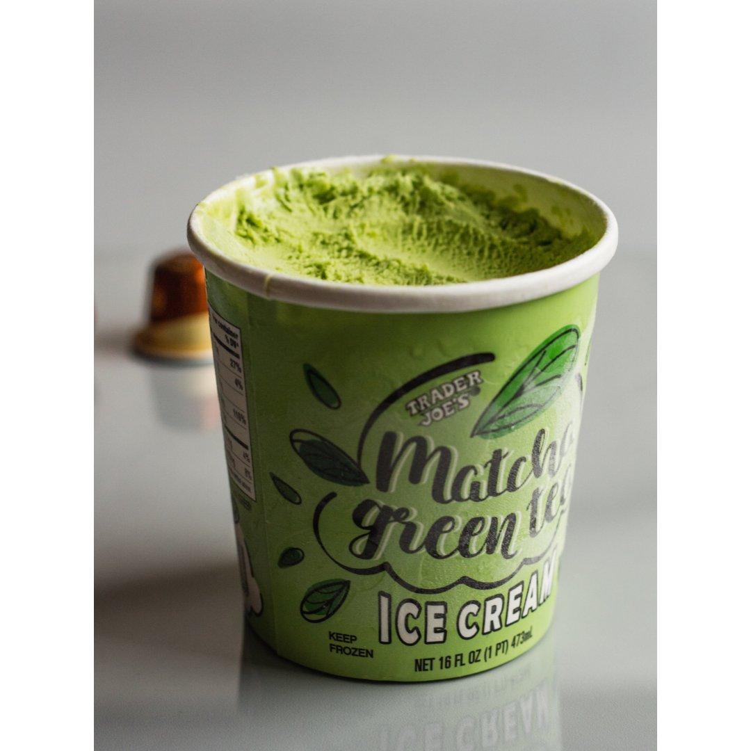 缺德舅新品抹茶冰淇淋你们尝了嘛