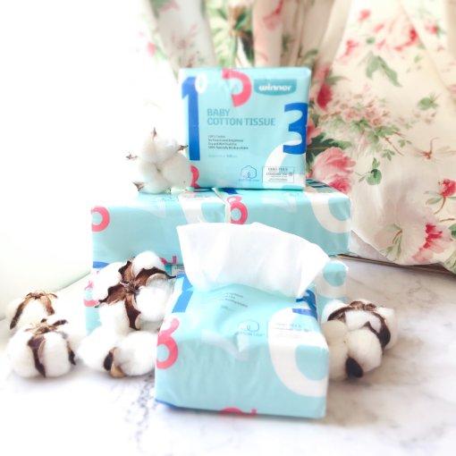 微众测|Winner棉柔巾:宝宝娇嫩肌肤的温柔呵护