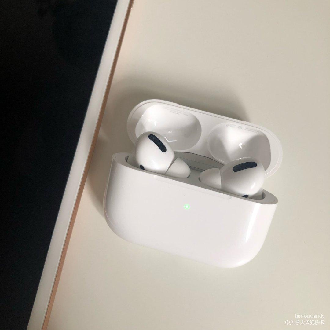 Apple学生折扣买的AirPod...