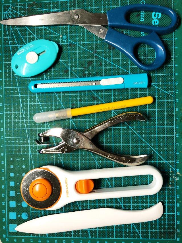 一些玩纸用的工具