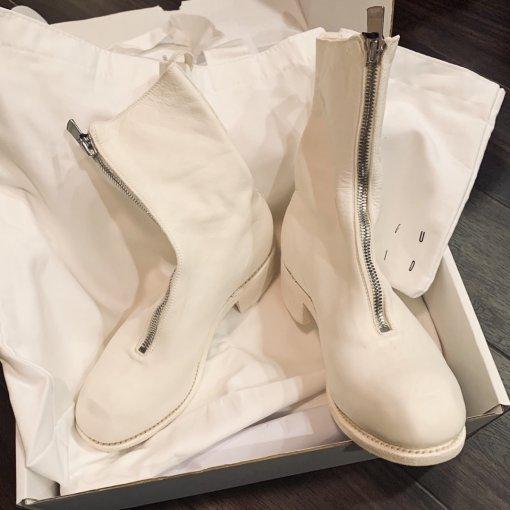 Guidi白色PL2神仙鞋开箱