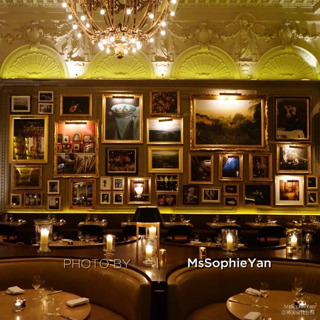 伦敦美食 艾迪逊酒店的餐厅很好吃...
