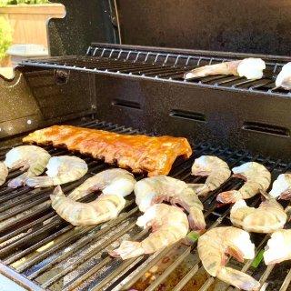 后院BBQ烤起来