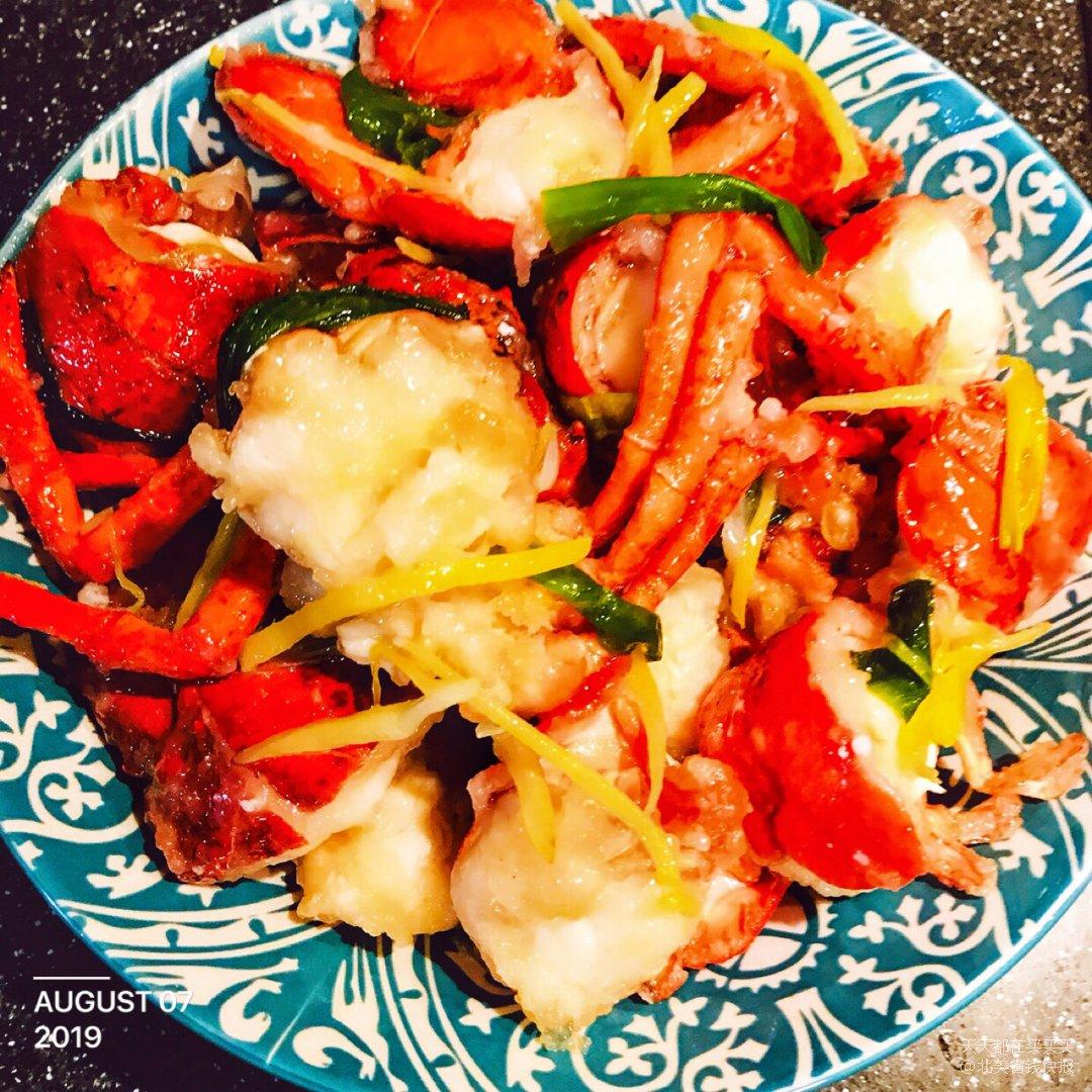 姜葱龙虾(≧ω≦)/在家也能吃上海...