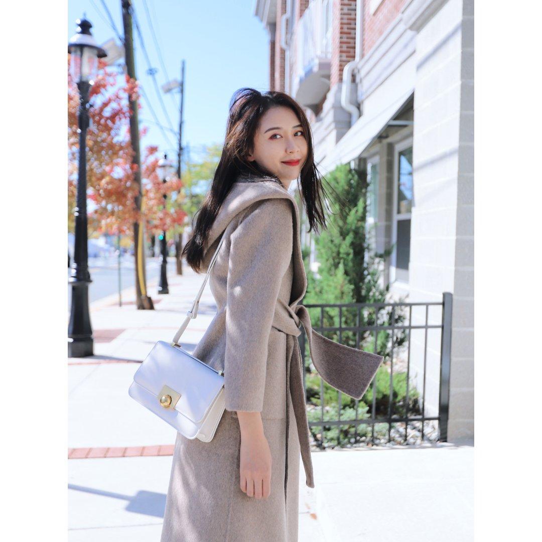 OOTD|QUAINT秋冬浴袍大衣...