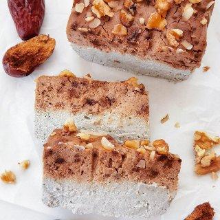 养生❗黑芝麻红枣豆乳磅蛋糕|烤箱微波...