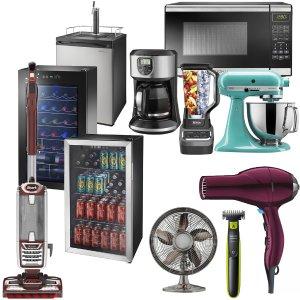 20% OFSELECT SMALL KITCHEN APPLIANCES, VACUUMS, PERSONAL CARE, HEATING AND COOLING