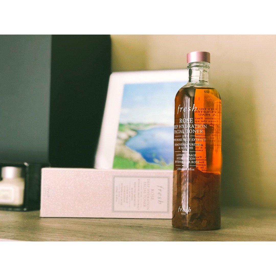 新货入荷——自然系护肤品Fresh玫瑰水