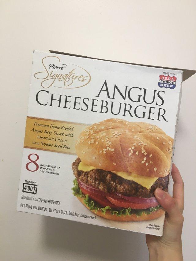 Costco安格斯牛肉堡值不值得买?