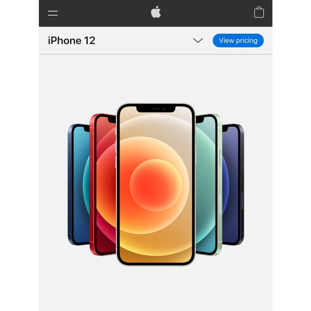 来聊聊iPhone 12吧!