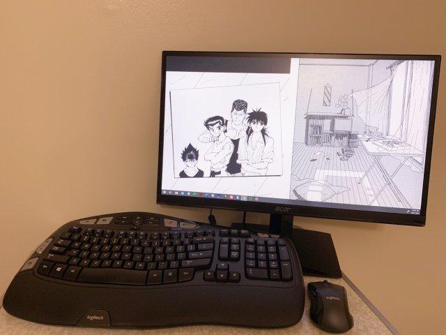 在家工作装备💢🐔   显示屏蓝牙键...