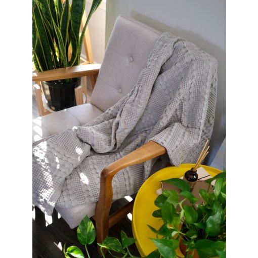 网易严选好物分享|Cozy corner必备纯棉盖毯