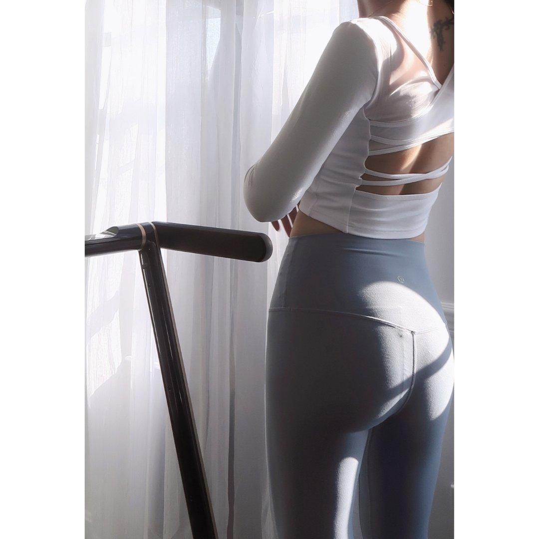 J.ING Women's Tops | Canyon White Mesh Ballerina Top,Align Crop 23