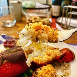 米君厨房|简易版本的避风塘烤龙虾烩饭🦞...
