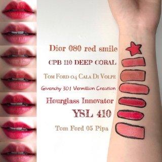 Dior Beauty,YSL Beauty 圣罗兰美妆,Cle de Peau Beaute 肌肤之钥,Tom Ford 汤姆·福特,Givenchy 纪梵希,Hourglass,Lipstik