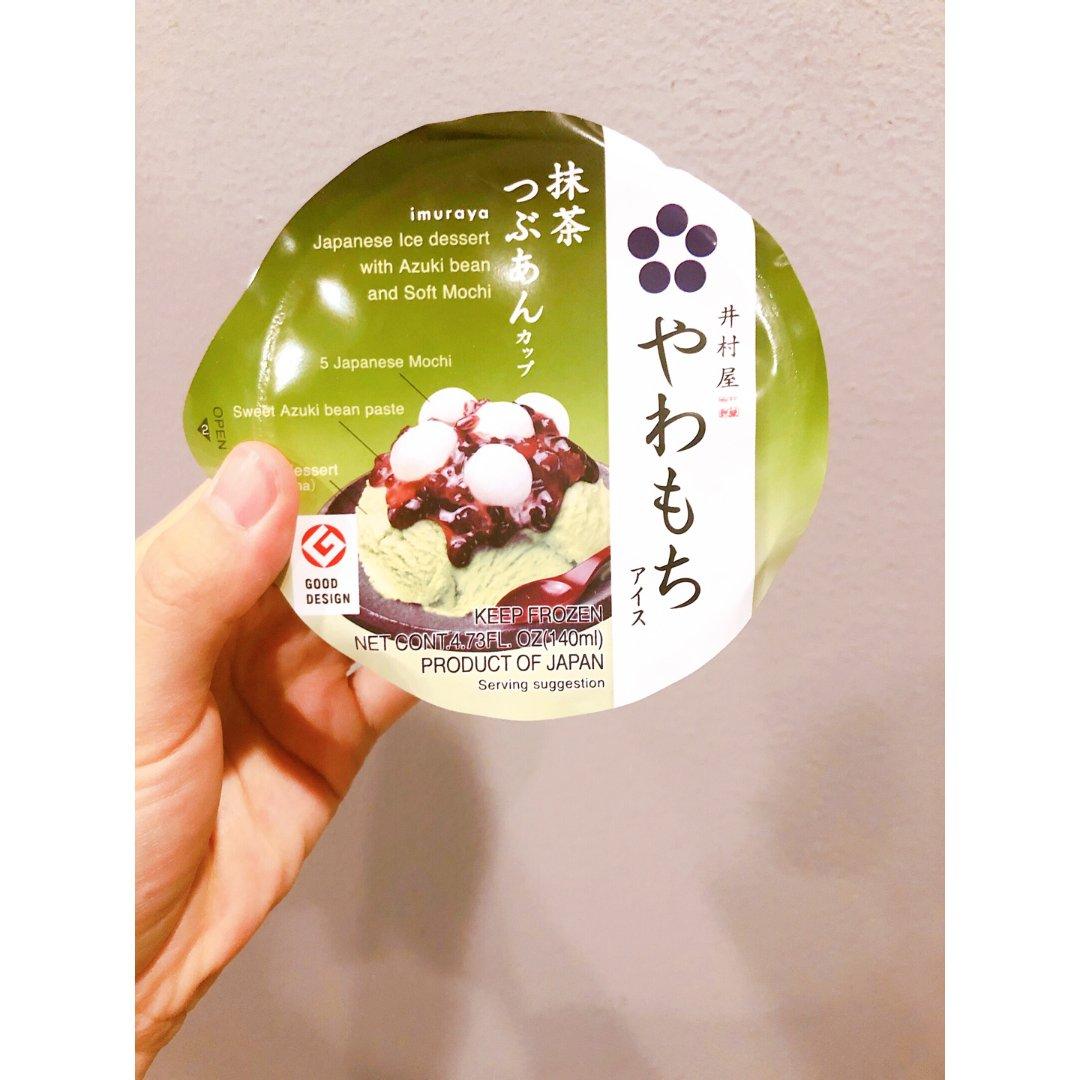 🍵不能错过的日式抹茶红豆冰淇淋