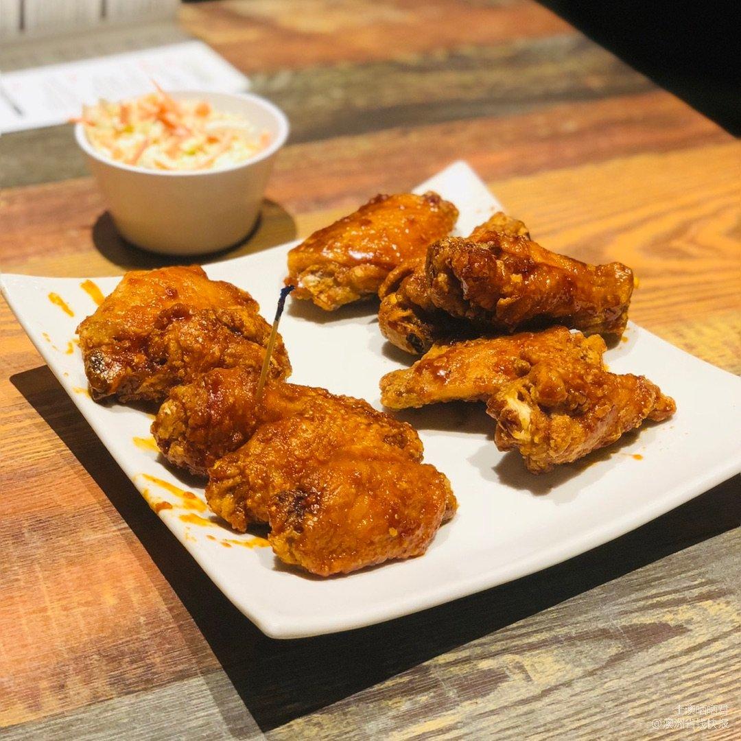 挺特别的现代风韩国🐓炸鸡,辣到不能自理