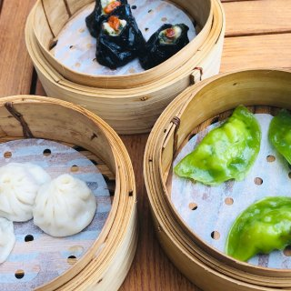 韭菜虾饺,黑虾饺