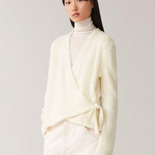 超百搭的cos奶白色和服开衫...