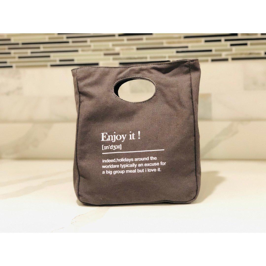 购物分享 | 便当袋