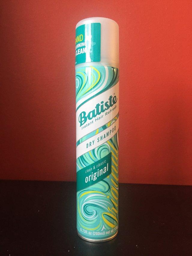 Dry shampoo 拯救油性发质