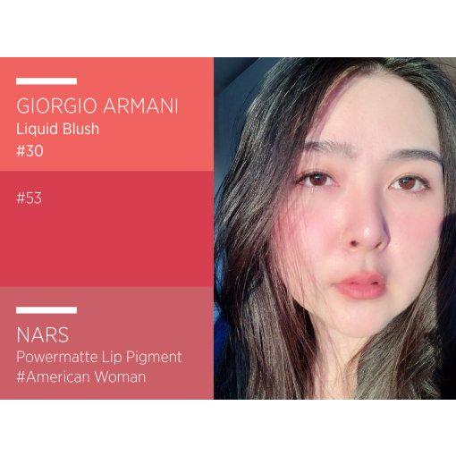 阿瑪尼 Armani liquid blush 液体 腮紅