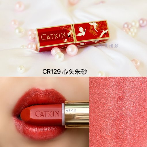 口红|国货之光:美极了的卡婷Catkin