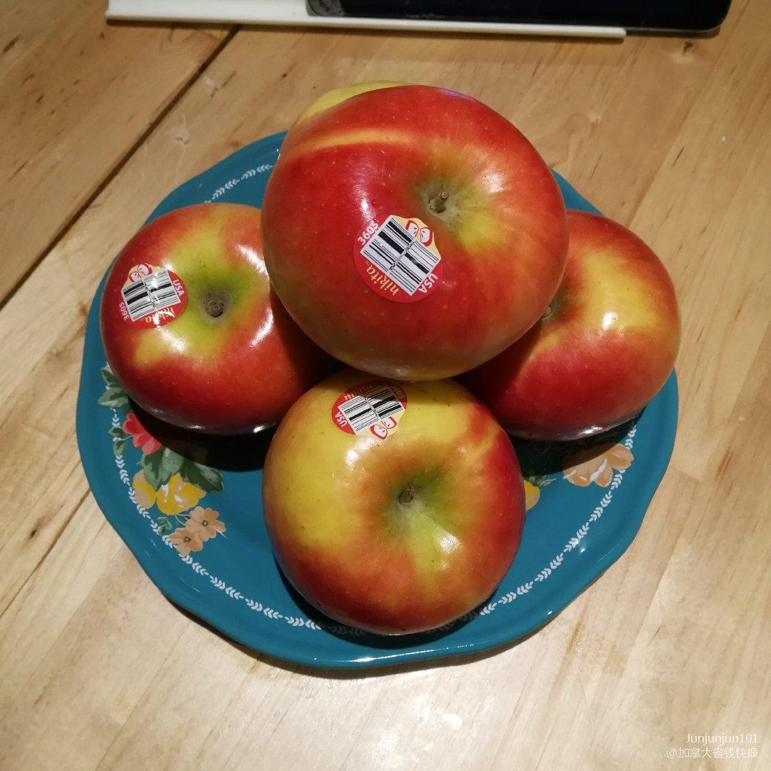 宅家自制苹果酱🍎