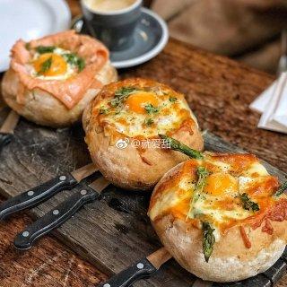 伦敦美食 || 超绝好吃面包碗,国内餐厅...
