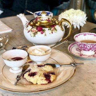 温莎的午后时光🌸精致的下午茶和闺蜜约起来...