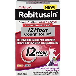 Amazon.com: Robitussin Children's Cough Dm Long Acting, Fruit Punch, 4 Ounce: Health & Personal Care
