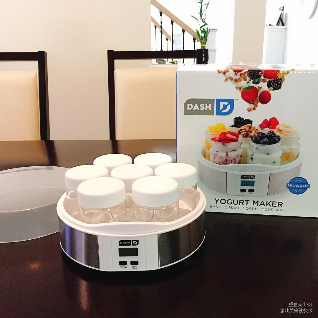 一键快速Dash酸奶机㊙️健康美味...