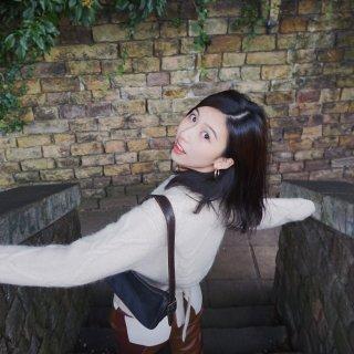 OOTD Nanushka拼接皮裤+OS...