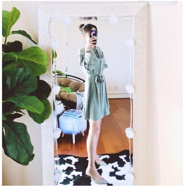 适合夏末的牛油果系小裙子🥑