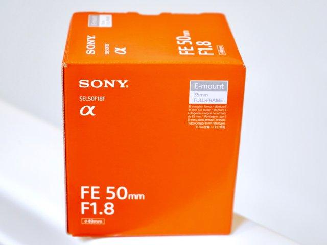 索尼 FE 50 F1.8镜头开箱测评